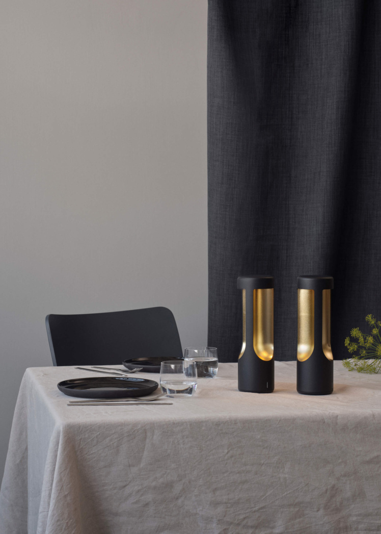 Elton Table LED Lamp in Use